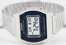 Casio B-640WD-1A Mens Digital Watch Stainless Steel Band Flash Alert LED New