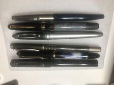 Lot of 6 Vintage Fountain Pens - Sheaffer, Itoya, etc.