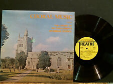 CHAMBER CHOIR OF DR. CHALLONER'S GRAMMAR SCHOOL  Choral Music   LP   EX !
