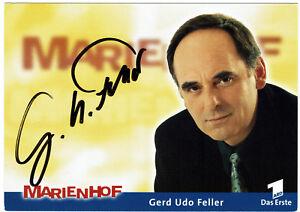 Gerd Udo Feller - MARIENHOF- original signierte Autogrammkarte - hand signed