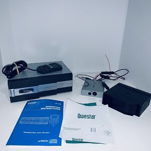 Qwestar QC280 10 DISC CD/CD-R/CD-RW/ CHANGER