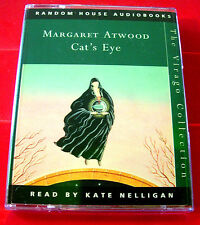 Margaret Atwood Cat's Eye 2-Tape Audio Book Kate Nelligan