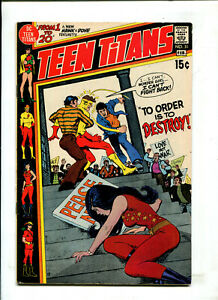 TEEN TITANS #31 - TO ORDER IS TO DESTROY! (5.0) 1971