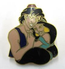 2000 Disney Love Aladdin and Jasmine Cute Couple Trading Pin ~Dp3~