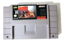 ****Foreman for Real SUPER NINTENDO SNES GAME Tested + Working & Authentic!****