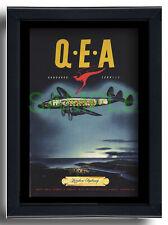 More details for qantas empire airways constellation sydney repro poster kangaroo service 1949