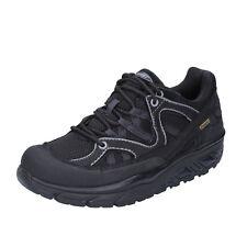 scarpe donna MBT 38 EU sneakers nero nabuk tessuto dynamic BT191-38