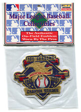 2001 AMERICAN LEAGUE 100 YEARS CHARTER MEMBER OFFICIAL MLB BASEBALL JERSEY PATCH