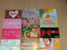 Walmart   12 different new collectible gift cards