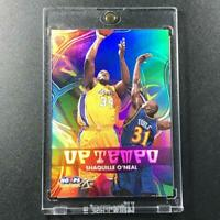 SHAQUILLE O'NEAL SHAQ 1999 SKYBOX NBA HOOPS #3 HOLOFOIL REFRACTOR INSERT LAKERS