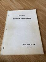 Yaesu FT 102 Technical Supplement