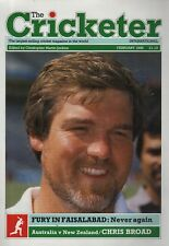 THE CRICKETER INTERNATIONAL MAGAZINE 1988 - ALL ISSUES COMPLETE EXCEPT JANUARY