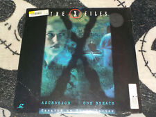 X-Files Ascension/ One Breath NEW SEALED Laserdisc LD Free Ship $30