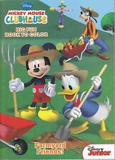 New Disney Mickey Mouse Coloring Book ~ Farmyard Friends!  FREE SHIPPING