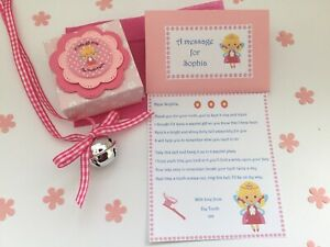 Personalised Tooth Fairy Letter, Fairy Bell, Gift Box, Tooth Fairy Gift