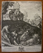 L. KILIAN `DIE WUNDERSAME BROTVERMEHRUNG; THE FEEDING OF THE FIVE THOUSAND` 1602