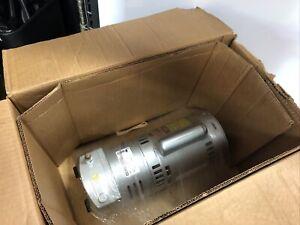 NEW Gast 1023-V131Q-SG608X Rotary Vane Vaccum Pump; 230V, 3/4 hp,