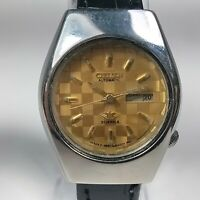 Vintage Citizen Mechanical Automatic Movement Day Date Dial Wrist Watch AB597