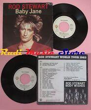 LP 45 7'' ROD STEWART Baby jane 1983 germany WARNER 92-9608-7 no cd mc dvd*