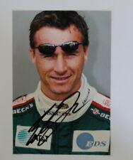 New listing F1 Original Autograph of Eddie Irvine Photo