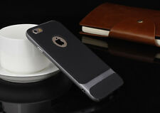 """Shockproof Hybrid Gray Slim Hard Bumper Soft Case Cover For iPhone 6 6s 4.7"""""""
