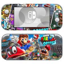 Nintendo Switch Lite Console Vinyl Skin Stickers Decals Super Mario Odyssey Cute