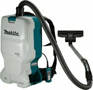 Makita backpack vacuum cleaner 6l 2x18V LiIon battery and charger without DVC660