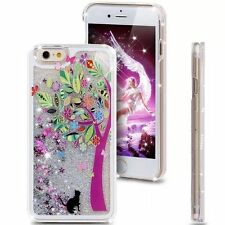 Dynamic Liquid Glitter Quicksand Pattern Hard Case Cover For Apple iPhone Series