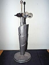 D4310 28 Tall Buffet Table Lamp Pewter