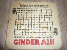 """1vieux SB de BELGIQUE  """" GINDER-ALE """""""