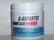 D-ASPARTIC ACID POWDER STRONG SPORT AMINO ACID TESTOSTERONE METABOLISM 100 GRAMS