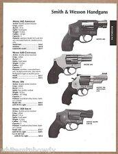 2004 SMITH & WESSON Model 4563 & 410 PISTOL AD w/ original prices