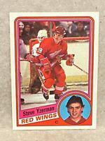 1984-85 Topps  Steve Yzerman Rookie Card #49 RC HOF