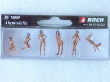 15958 FILLES NUES SEXY CABARET PIGALLE BRONZER NOCH  NEUF ECHELLE HO 1/87