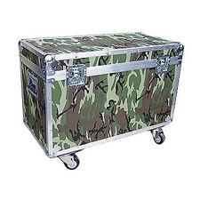 "Camouflage Medium Duty 1/4"" Ata Bully Utility Trunk - Wheels!"