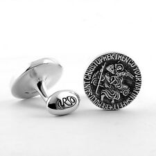 Urso St. Christopher Silver Limited Edition Cufflinks
