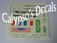 Cousteau's Calypso DECALS 1:125 Revell 05101
