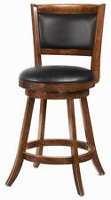 Dark Chestnut Swivel Counter Height Dining Chair by Coaster 101919 - Set of 3