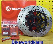 Bremsscheiben + Bremsbeläge Vorne Ducati Monster S2R 1000 / S4R 1000 Brembo