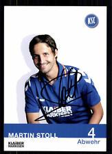 Martin Stoll Karlsruher SC 2012-13 TOP AK  + A 72074