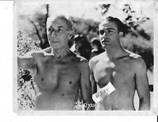 Barechested Men VINTAGE Photo Elysia Valley Of The Nude