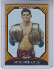2011 Topps UFC Finest Gold Refractor Dominick Cruz 68/88 #66 NM Condition