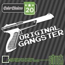 Original Gangster - Decal Sticker NES Zapper Nintendo OG Fresh JDM Nerd Gun