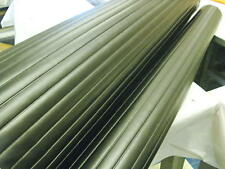 Vinyl Pleats 1'' Black Automotive/Marine Upholstery heat sealed