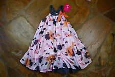 NEW Deux Par Deux Butterfly Floral Dress 10 Girls Boutique RV$72