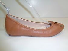 ba10e55f1a1 Louise et Cie Size 6.5 M FERRARIA Brown Leather Ballet Flats New Womens  Shoes