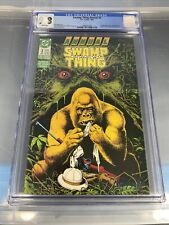Swamp Thing Annual #3 CGC 9.8 (DC, 1987) Gorilla's crossover. Brian Bolland.