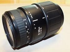 Sigma f/4 - 5.6 DL 70-300mm Lens for Minolta/Sony