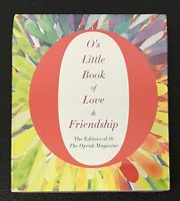 O's Little Book of Love & Friendship O's Little Books/Guides AUDIOBOOK 3 CD NEW