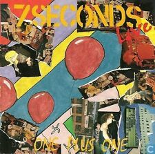 7 Seconds -  Live One Plus One - 1993 Straight Edge Punk Emo NEW
